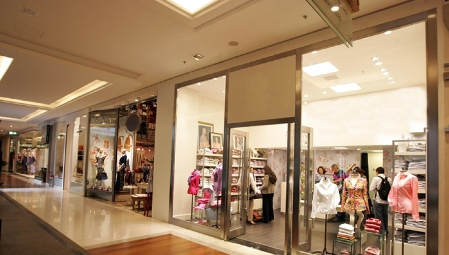 visual da loja